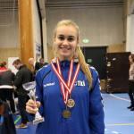 Ástrós Norðurlandameistari í taekwondo í 5. skipti