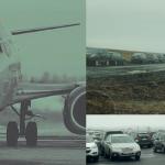 Bílastæðaþjónustur nota malarvegi og þjónustusvæði við Reykjanesbraut sem geymslupláss