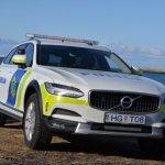 Lögreglan á Suðurnesjum fær nýjar Volvo bifreiðar