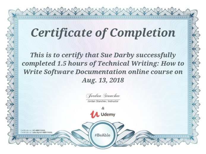Technical Writing Software Documentation