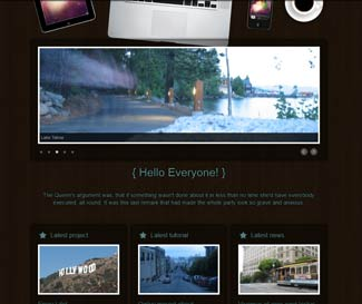 RocketWood WP Photo Theme