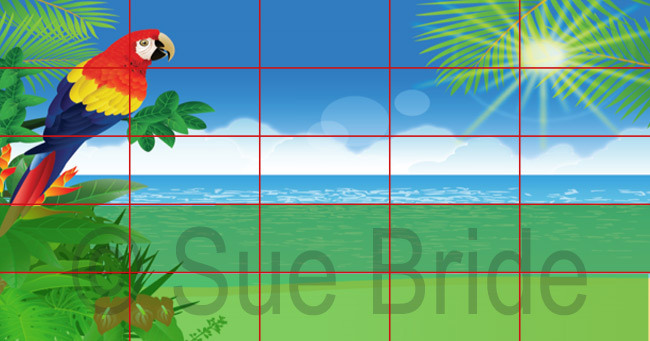 Facebook Ad Grid Image with Watermark
