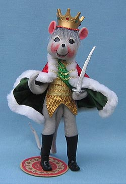 Annalee 12 Rat King Nutcracker Series  Mint  2005  944505