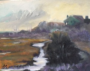 Sedge Marsh Fog -8x10