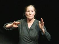Edith Clever wird 80: Hehre Sprachkünstlerin