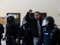 Proteste in Spanien: Ein Enkel von Andreas Baader