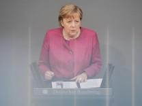 Coronavirus in Deutschland: Merkel wirbt vehement für die Bundes-Notbremse