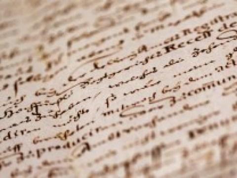 Archäologie: Die Geburt der Buchstaben