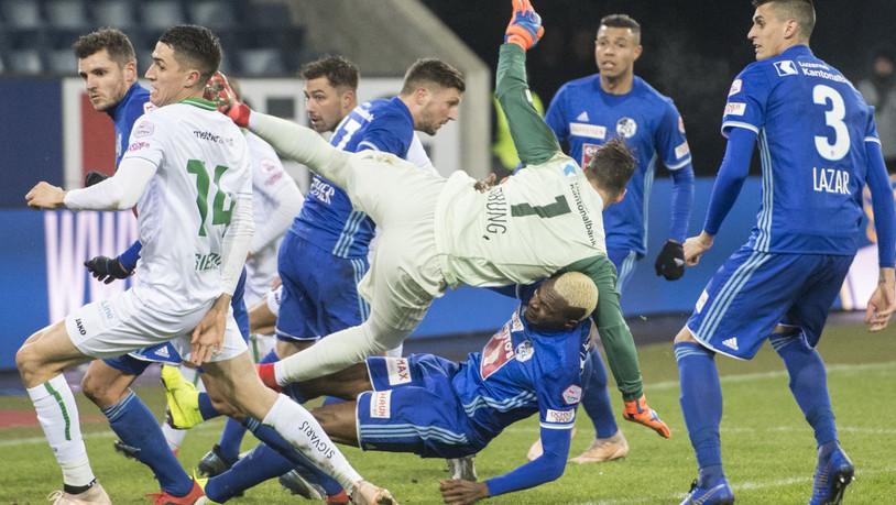 St Gallen Mit Knapper Niederlage Gut Bedient