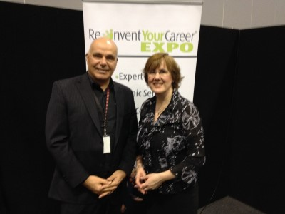150530 Reinvent Your Career Expo Melbourne Sue Ellson LinkedIn Hacks for Expert Career Seekers Nic Riccuiti
