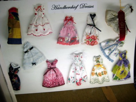 And look at these cute hanky dresses!