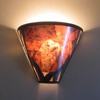 Barn Owl Mica Wall Sconce - Sue Johnson