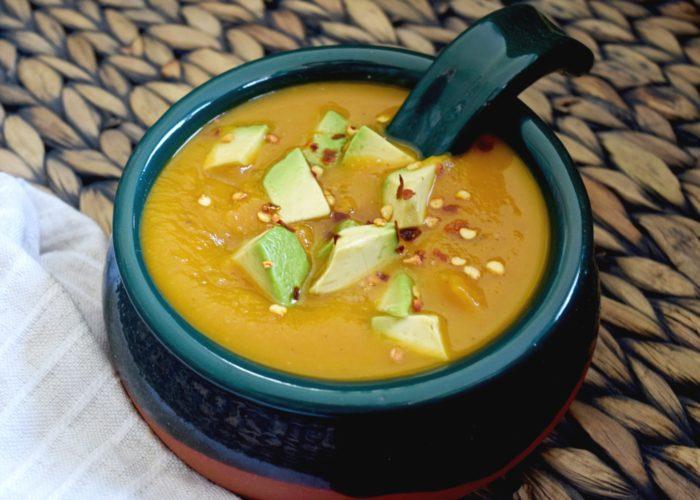 Butternut Squash Avocado Soup