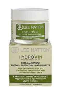 Κρέμα εντατικής ενυδάτωσης και τόνωσης Hydrovin Lee Hatton