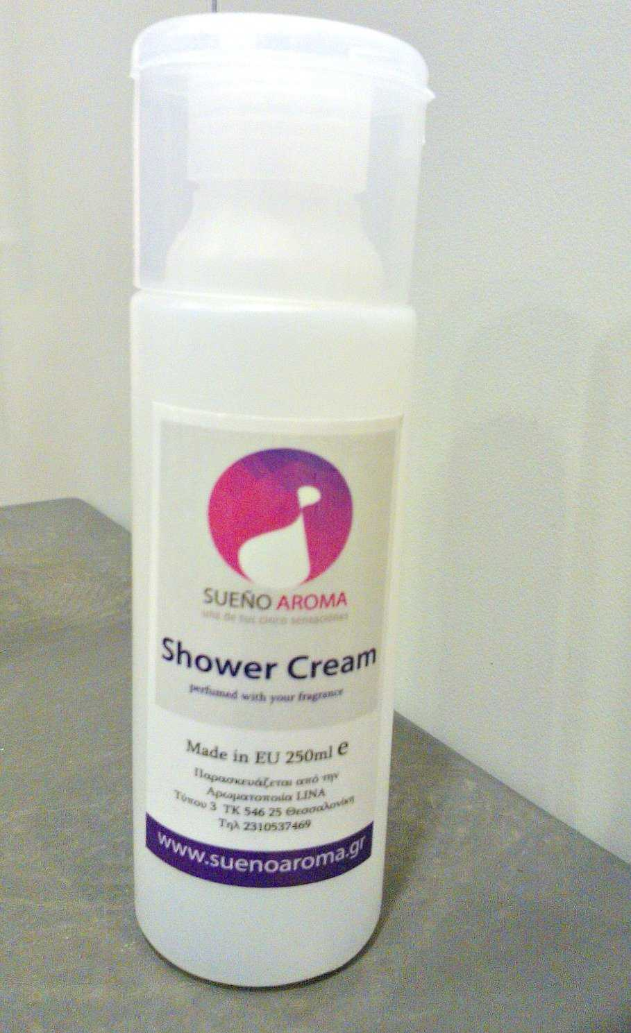 shower cream 250ml