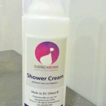 shower cream 250ml