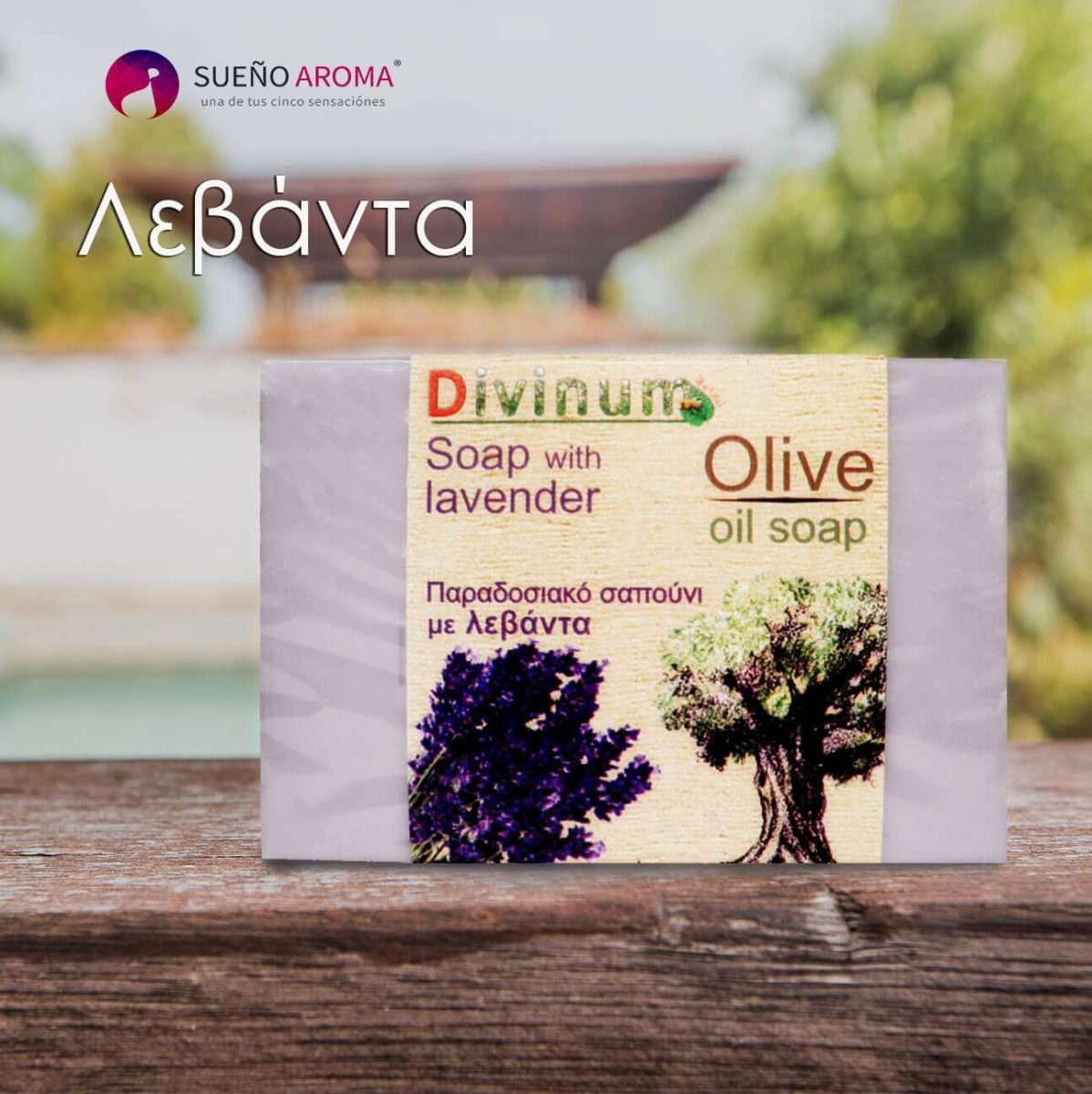 handmade soap lavender olive oil divinum