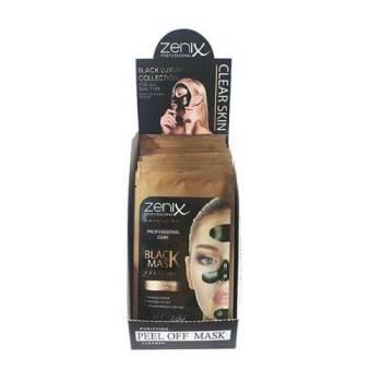 Zenix Black Mask Peel Off Μαύρη μάσκα για μαύρα στίγματα Φακελάκι 15gr