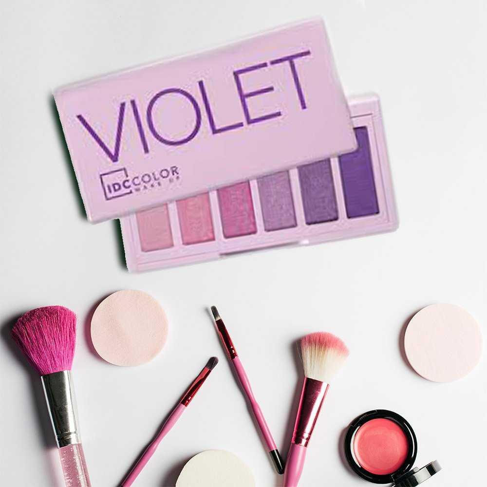 idc violet eye shadow pallette