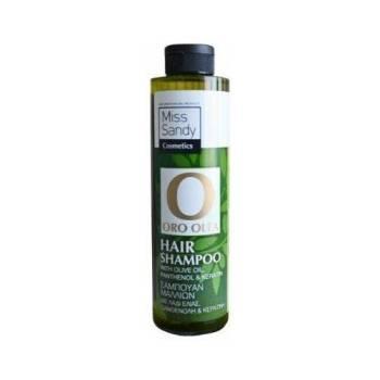 Oro Olea Natural Hair Shampoo Λάδι Ελιάς Πανθενόλη και Κερατίνη 250ml