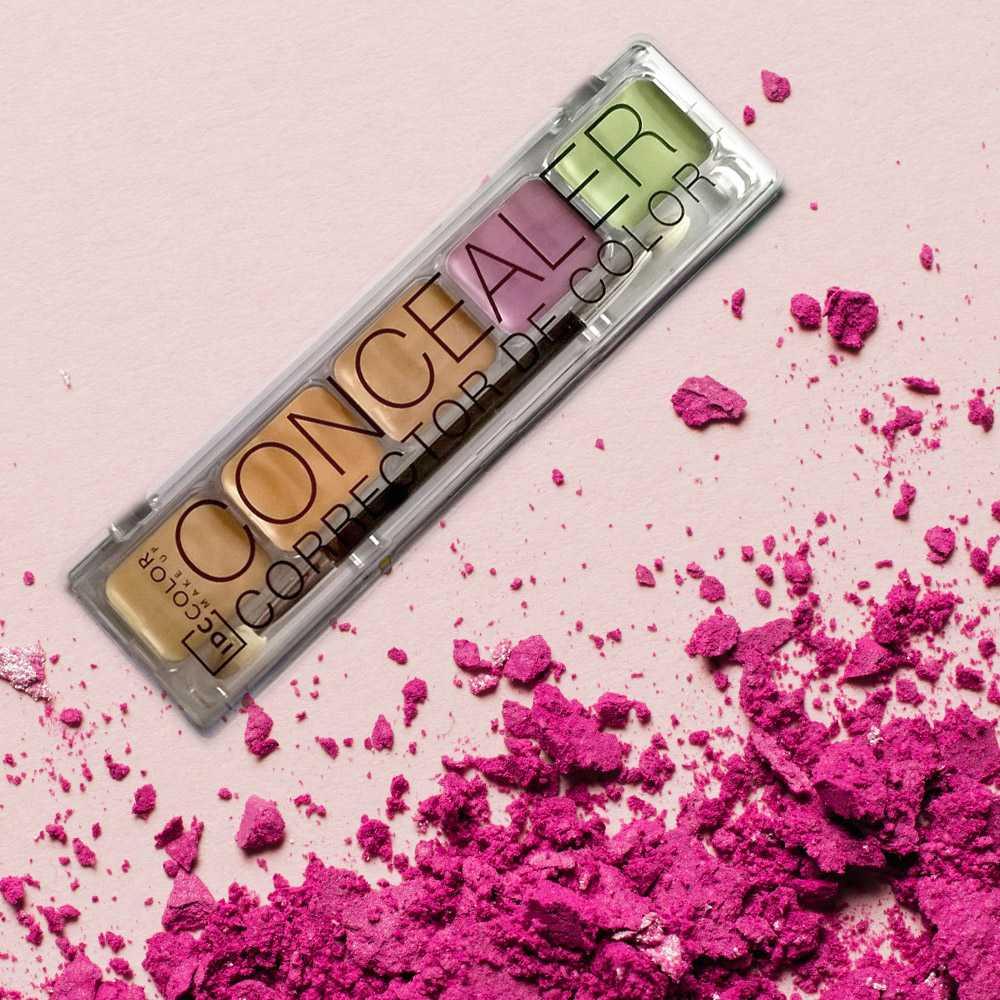 Concealer palette IDC Institute Παλέτα διόρθωσης χρώματος και υφής του δέρματος