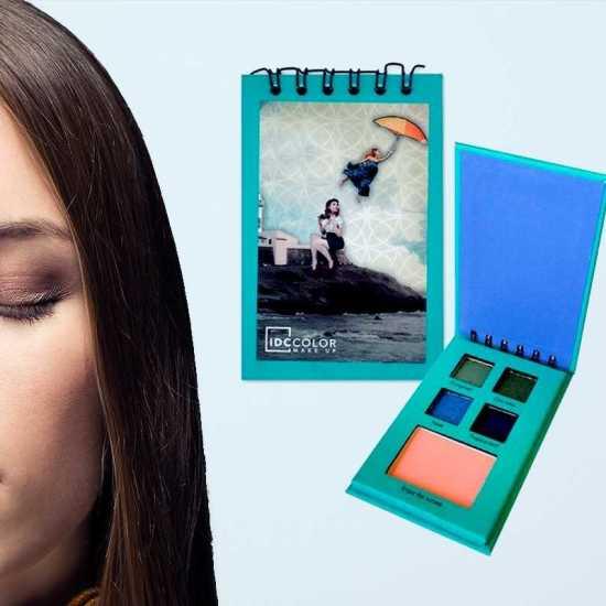 Idc Color Eyeshadow + Blush notebook Aqua