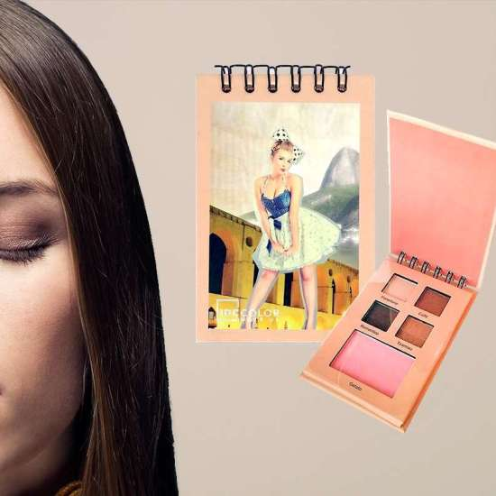 Idc Color Eyeshadow + Blush notebook Nude