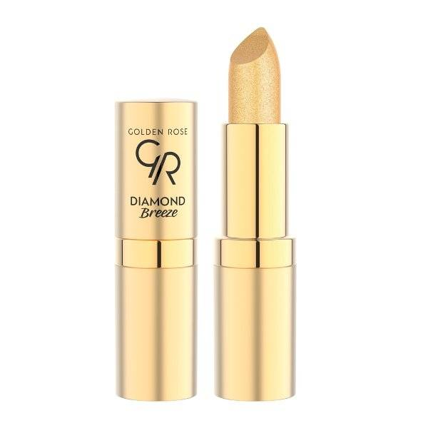 Diamond Breeze Shimmering Lipstick Golden Rose