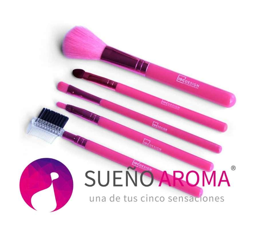 IDC Design Make up brushes 5pcs - πινέλα 5 τεμ