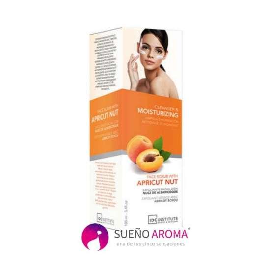 Face Scrub (Peeling προσώπου) Apricot Nut IDC Institute 100ml