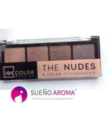 IDC The Nudes Eyeshadow (4 colours) No3