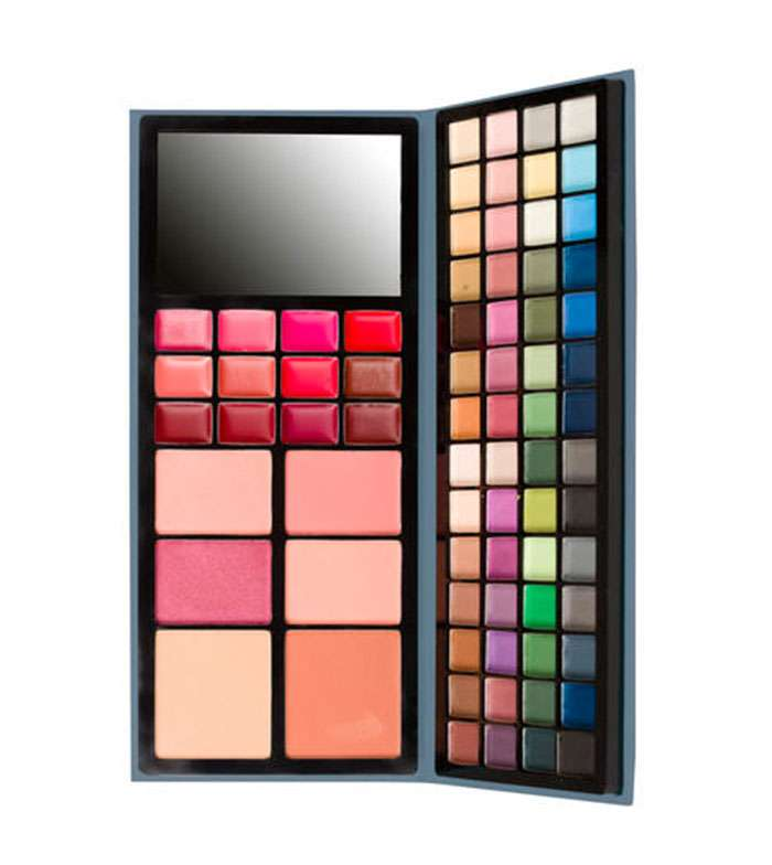IDC Old Book Makeup Palette - 74 colors