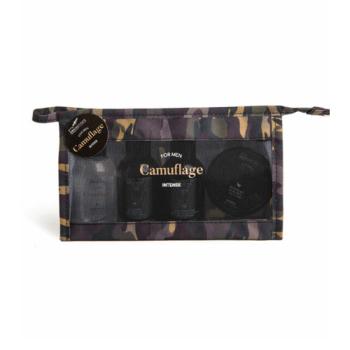 Ανδρικό Σετ IDC Institute Camouflage Intense Bag 4pcs