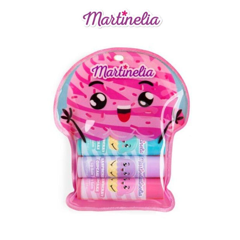 Παιδικό Σετ Martinelia Yummy Lip Balm Trio CupCake