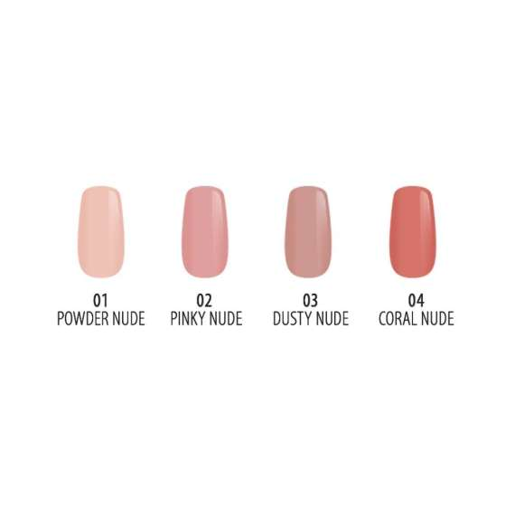 Golden Rose NUDE Look Perfect Nail Color