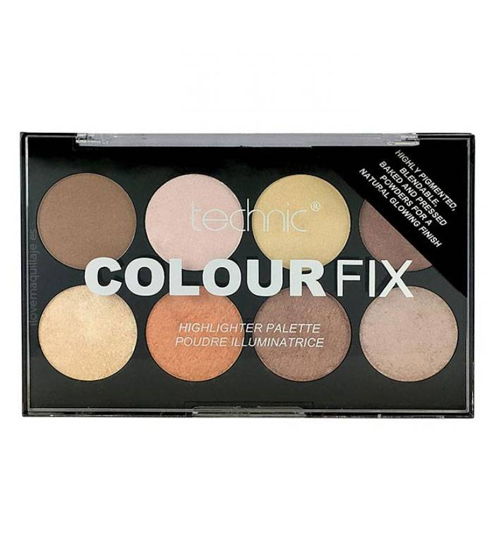 Highlighter Palette Color Fix by Technic