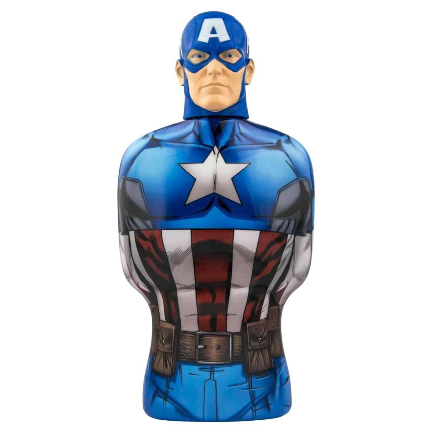 Παιδικό Αφρόλουτρο Captain America 350ml