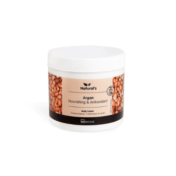 Body Cream Natural's με Argan της IDC 400ml