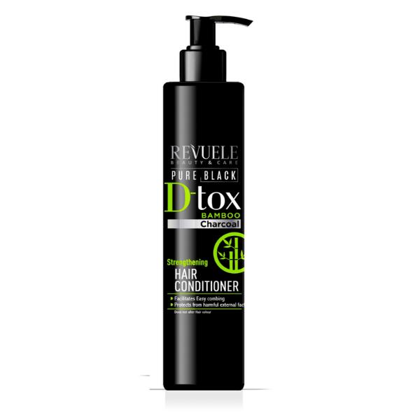 Conditioner Μαλλιών Revuele Pure Black Strengthening Hair Conditioner