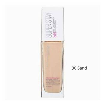 Maybelline Superstay 24h Full Coverage foundation No30 Sand