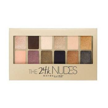 Maybelline The 24 karat Nudes Eyeshadow Palette 12 Σκιές