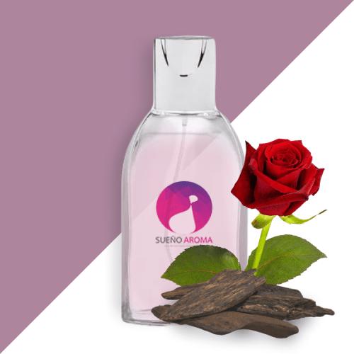 Γυναικείο Άρωμα La Rosa Negra με Τριαντάφυλλο & Ξυλαλόη