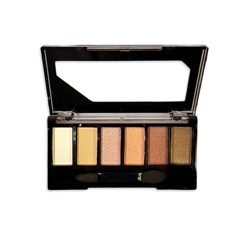 Παλέτα Σκιών Magic Studio - Nude Palette 6col