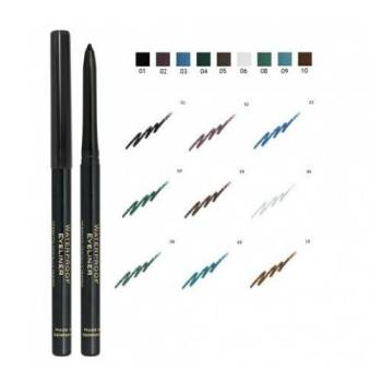Golden Rose Waterproof Eyeliner Pencil Μηχανικό Αδιάβροχο Μολύβι Ματιών