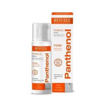 Revuele Panthenol Foam Θεραπευτικός Αφρός για Πρόσωπο και Σώμα