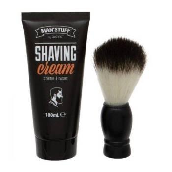 Technic Man's Stuff Shaving Set Κρέμα Ξυρίσματος 100ml & Πινέλο Ξυρίσματος 130gr