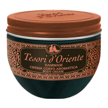 Tesori d'Oriente Body Cream Hammam -Argan Oil and Orange Blossom 300 ml