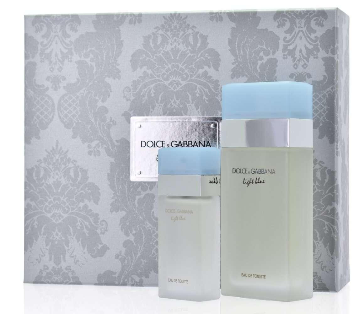 Dolce & Gabbana Light Blue Women's Giftset Άρωμα EDT 100ml Άρωμα EDT 25ml