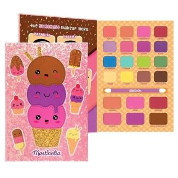 Martinelia Yummy Beauty Book Παλέτα Ομορφιάς 14,5 x 21 x 1 cm