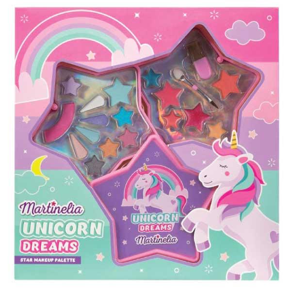 Martinelia Little Unicorn Star Kit Παιδικό Σετ Σκιές 4,32gr Ρουζ 1,62gr Lipgloss 1.55gr